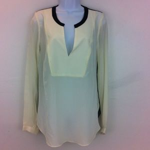 Aryn K Tops - Aryn K sheer back blouse
