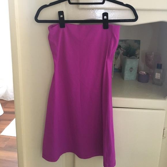 Susana Monaco Dresses - 🌸 Susano Monaco Supernova Pink Tube Dress Sm 🌸