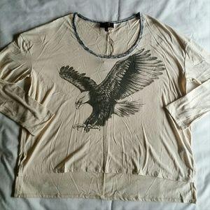 Allen B. By Allen Schwartz Tops - NWT Allen Schwartz eagle graphic shirt