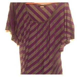 American City Wear Tops - American City Wear Purple Top