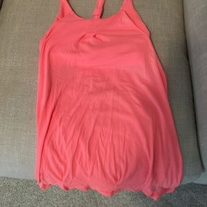 Lululemon razorback tank with built in sports bra