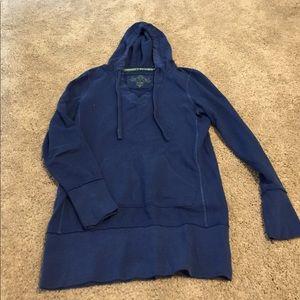 Wear It Declare It Tops - Comfy blue hoodie sweatshirt