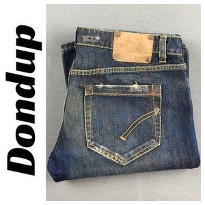 Dondup Denim - ☮️Dondup USED  (dirty) distress/faded Jean size 32