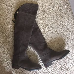 2bf983d9c Tory Burch Shoes - Tory Burch Simone Suede Over the Knee Boots