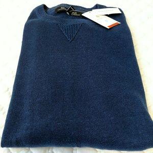 Banana Republic Other - Banana Republic Italian linen Navy sweater XL