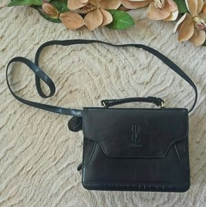 Bellerose Handbags - Black Bellerose Leather Crossbody Purse