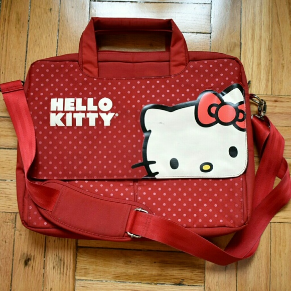 3e320efd87 Hello Kitty Handbags - Hello Kitty Laptop Messenger Bag