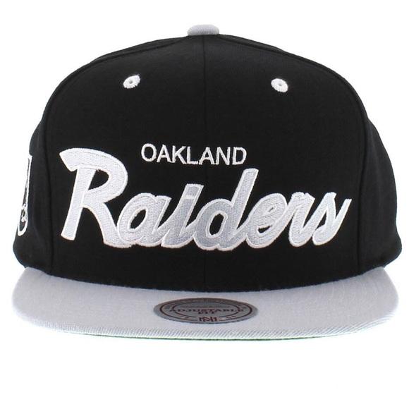 df43755e3c0b5 Mitchell and Ness Oakland Raiders SnapBack Hat. M_592ddf76620ff7b2ce079499