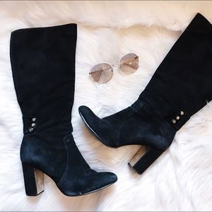 Suede Knee High Boots🎀