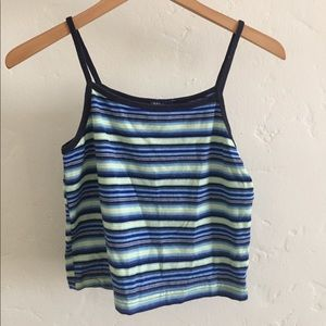 Limited Too striped crop top