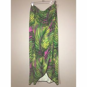 Tropical Print Maxi Sz 2x