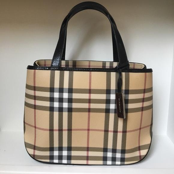f42752cc2794 Burberry Handbags - Burberry Nova Check Mini Tote Bag - Authentic