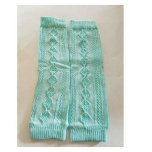 Other - 3 for $10 sale! Blue knit style baby Legwarmers