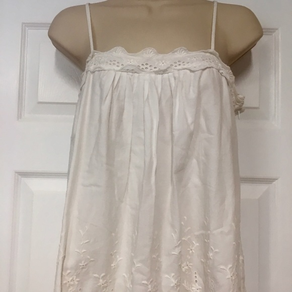 55 Off Gap Tops Gap White Eyelet Baby Doll Top From