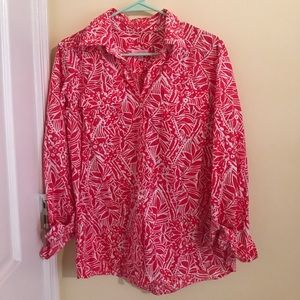 Lilly Pulitzer Resort Fit Button up Size Medium