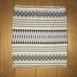 Patterned Bandage Skirt