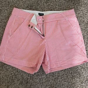 J. Crew Chino Shorts city fit Size 8