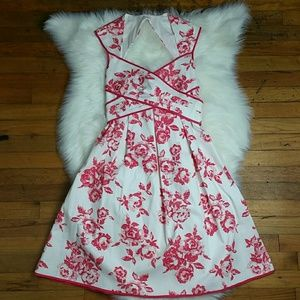 Jessica Simpson Floral Cross Front Dress NWT