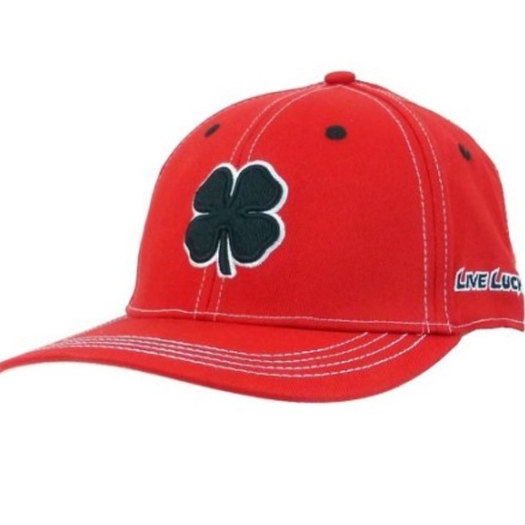 3b5d3707887 Black Clover Front   Center Golf Hat Medium
