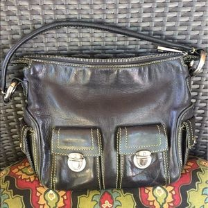 Leather Marc Jacobs bag