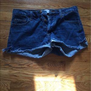 American Apparel Pants - American Apparel Denim Shorts