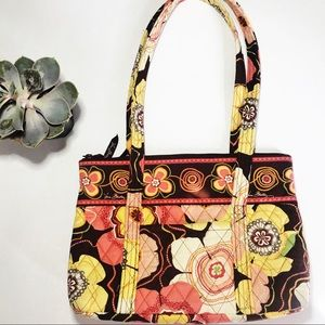 Vera Bradley Yellow And Pink Floral Bag