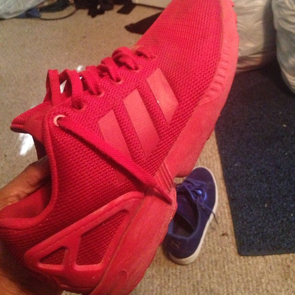 new arrival f151c 825c4 Adidas ZX Flux *ALL RED‼️