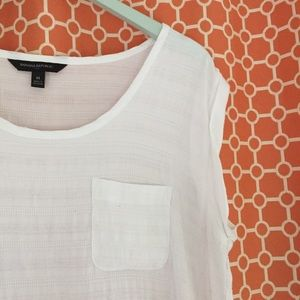 White Banana Republic Blouse