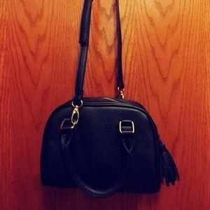 Black Tassel Adjustable Bag