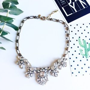 J. Crew Jewelry - ❗️LAST ONE❗️New J. Crew crystal statement necklace