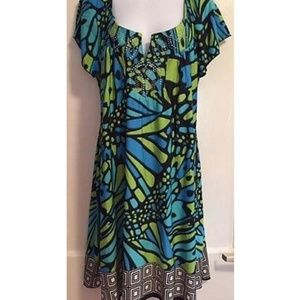 Apt.9 Dresses & Skirts - PLUS SIZE 1X Midi Dress with Rhinestones