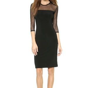 Norma Kamali Core 3/4 Sleeve Dress