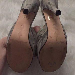 Terry de Havilland Shoes - Paige Terry de Havilland Lotte Camo Army Heels