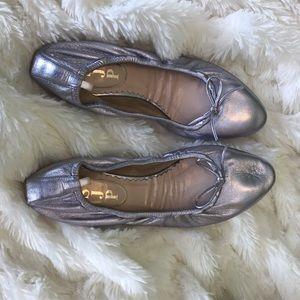 SJP Metallic Pink Ballet Flats Size 37