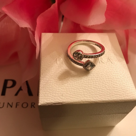 ebe908b6d ... pandora jewelry pandora abstract elegance ring ...