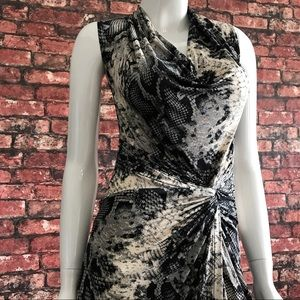 Dorothy Perkins Dresses & Skirts - NEW Animal Print Faux Wrap Dress