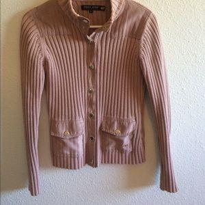 Point Zero Jackets & Blazers - Long sleeve snap-up knit jacket w/ pockets