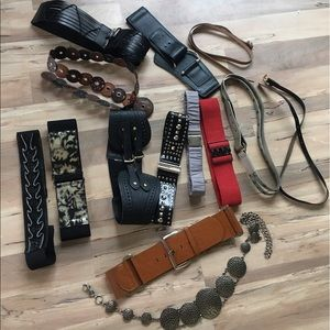 BCBG Accessories - Bundle of belts.