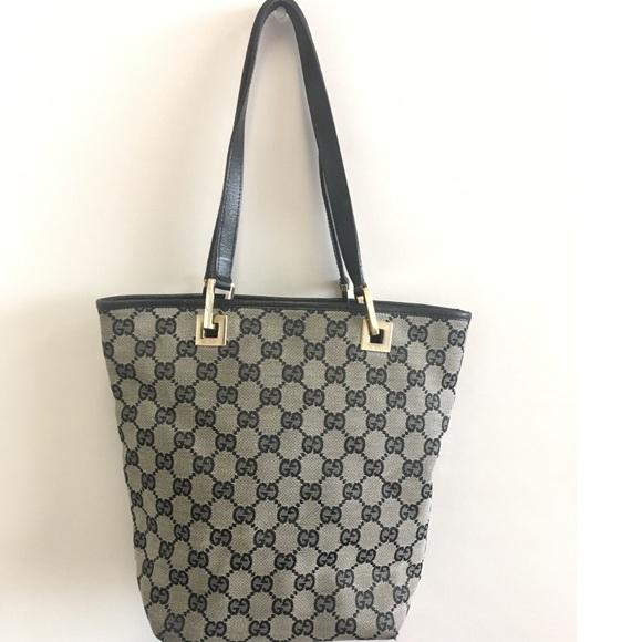 47301c33aa4c Gucci Handbags - 💜Vintage Gucci bucket tote bag