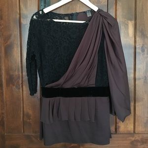 2B.Rych Tops - 2B.Rych lace and silk top - M