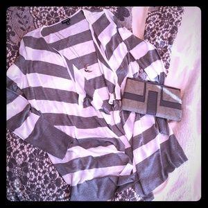 torrid Tops - Striped Cardigan