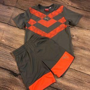 Like new boys Puma outfit.  Sz 4T