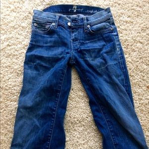7 For All Mankind Denim - 7 For All Mankind Capri jeans