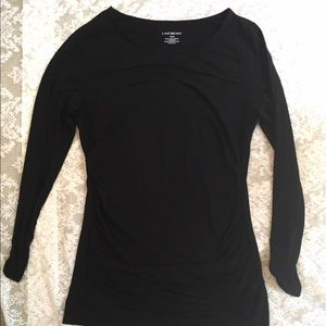Lane Bryant long sleeve with keyhole cutout
