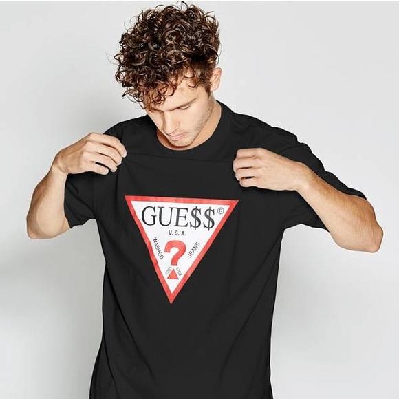 890eef7716ef Guess Shirts | Asap Rocky Oversized Retro Logo Tee Medium | Poshmark