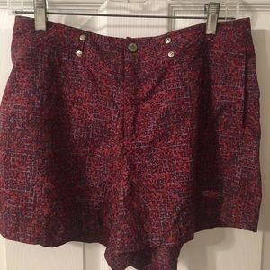Unique, patterned Adidas running/tennis shorts