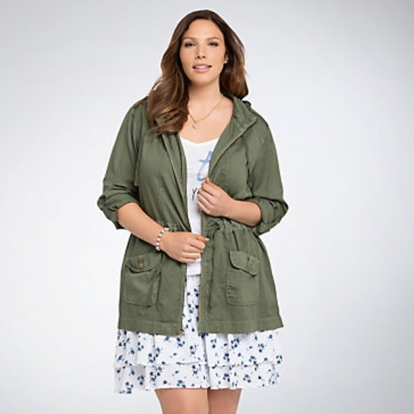 79cd49aaf4a1ef torrid Jackets & Coats | Hooded Anorak Jacket | Poshmark