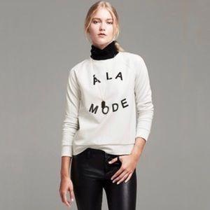 Banana Republic A La Mode Crew Pullover Sweatshirt