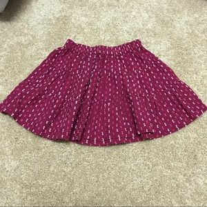 Tea Collection Other - Tea Collection textured pink skirt SZ 2