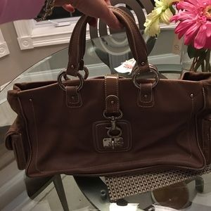 Marc Jacobs Leather and Suede bag
